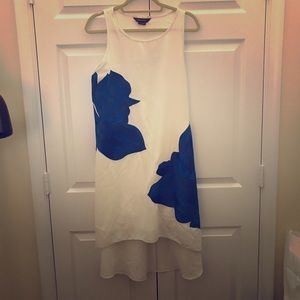 Hi-lo dress from Anthropologie